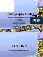 Photography - Lesson 2
