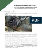 Lectura - Perú Los Problemas Ambientales Que Deben Resolverse en El 2017