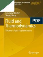 Fluid and Thermodynamics_ Volume 1_ Basic Fluid Mechanics