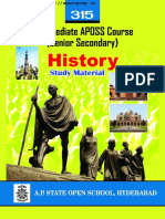 Andhra Pradesh AP Open School Intermediate History Study Material Textbook English Medium PDF