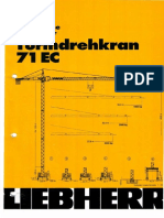 Caracteristicas Tecnicas Liebherr 71 EC