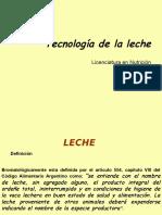 Clase Teorica de Tecnología de La Leche (2013)
