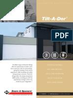 Tilt a Dor Brochure