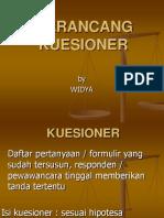 Pw Kuesioner
