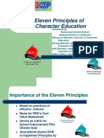 The Eleven Principles of Effective Character Education