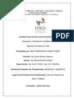 Informe Final de Prácticas - Lozano Cubas Ricky Anderson