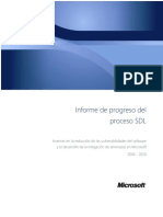Sdl Progress Report Spanish