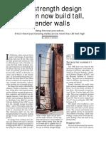 Slender Walls (James E. Amrhein)