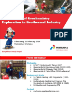 Introduction of Geochemistry Exploration in Geothermal Industry -2