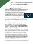Classificacao de Reservas e Estimativa Probabilistica