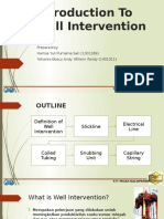 Introduction to Well Intervention