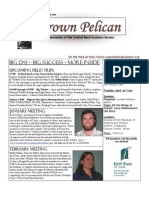 March-April 2009 Brown Pelican Newsletter Coastal Bend Audubon Society