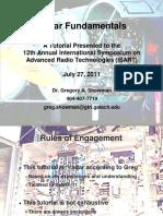 Radar Fundamentals
