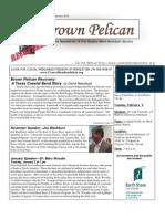 January-February 2010 Brown Pelican Newsletter Coastal Bend Audubon Society