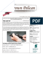March-April 2010 Brown Pelican Newsletter Coastal Bend Audubon Society