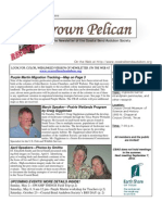 May-June 2010 Brown Pelican Newsletter Coastal Bend Audubon Society
