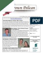 July-August 2010 Brown Pelican Newsletter Coastal Bend Audubon Society