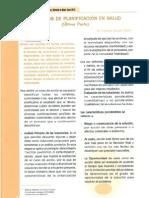 Procesos de Planificación en Salud