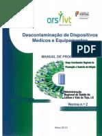 Norma de descontaminação de Dispositivos Médicos