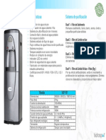 Ficha Técnica Purificador HSP701