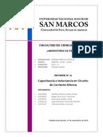Informe 10 Laboratorio de Física III