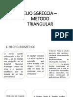 Elio Sgreccia Metodo Triangular
