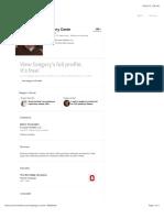 Gregory Conte | Professional Profile