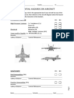 Potential Risks on Aircraft