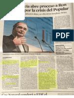 QUERELLA ADMITIDA, DILIGENCIA PRUEBA -  2 INSPECTORES BCO ESPAÑA- FOLLETO INFORMATIVO