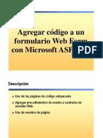4.- Agregar codigo a los Formularios Web Form.ppt