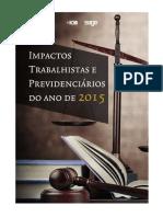 Impactos Trabalhistas e Previdenciários Do Ano de 2015
