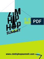 Zim Hip Hop Summit 2017 Report
