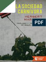 La sociedad carnivora - Herbert Marcuse.pdf