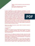 Los Contratos Internacionales y El Derecho Aplicable en La Legislación Venezolana