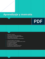 Aprendizaje y Memoria 3 de Diciembre