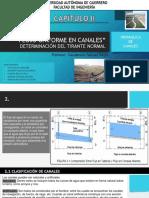 Flujo Uniforme en Canales