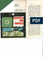 Ponta de Lanca. Oswald de Andrade Obras_Completas Vol5