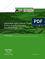 Japanese Agriculture Trade Policy and Sustainable Development_0