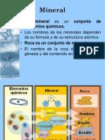 Exposicion de Geologia MINERALES