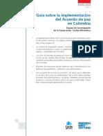 Guía Para La Implementación de Los Acuerdos
