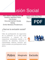 Exclusión Social