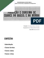 2017_Produção e Consumo de Carnes No Brasil e No Mundo - Sem Vídeo