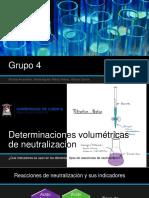 Determinaciones volumetricas