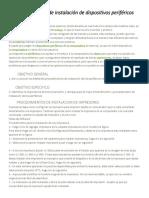 Procedimiento de Instalación de Dispositivos Periféricos Leidy (2)