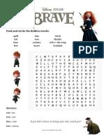 Brave - Movie Activity