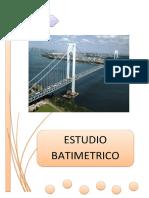ESTUDIO BATIMETRICO