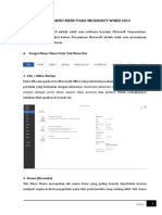 Fungsi Tab Menu Bar Pada Microsoft Office 2013