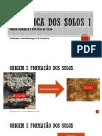 03. Origem^J formação e evolução de solos