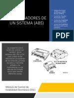 Controladores de Un Sistema (Abs)