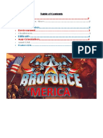 broforce gdd